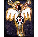 Angel Paintings-a series by Ayin Es