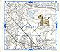 Woofer Runs LA: Thomas Bros. map book page by Carol Es